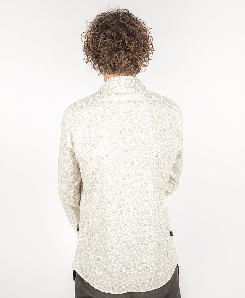 psy-clothing-mens-wear-button-down-long-sleeve-shirt-honeycomb-white