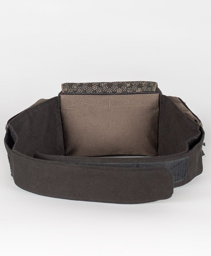 psy trance festival fanny pack utility belt canvas bee hive