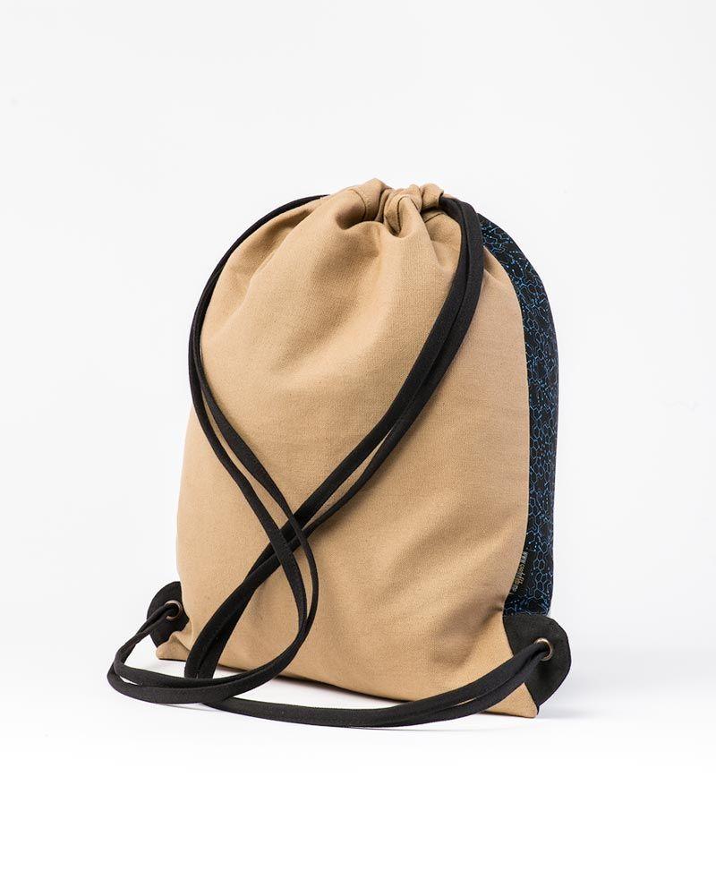 psytrance clothing drawstring backpack sack bag lsd molecule