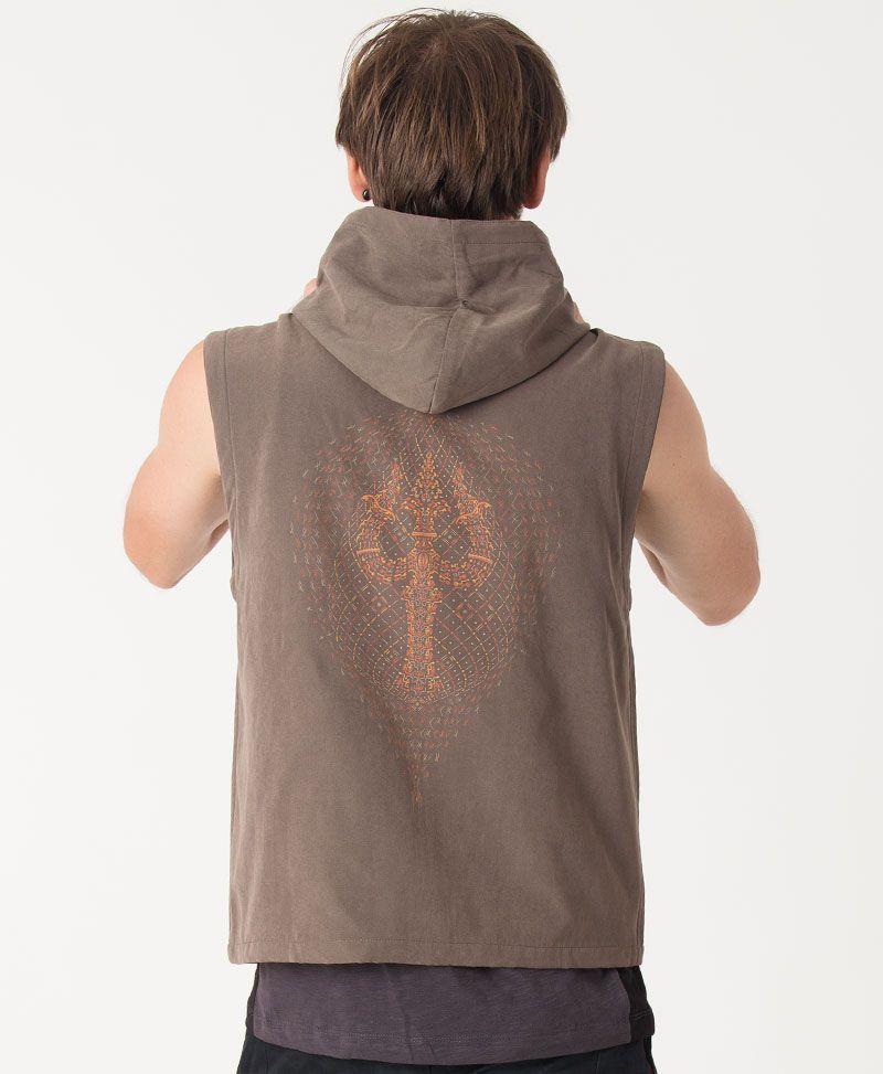 psychedelic clothing mens vest