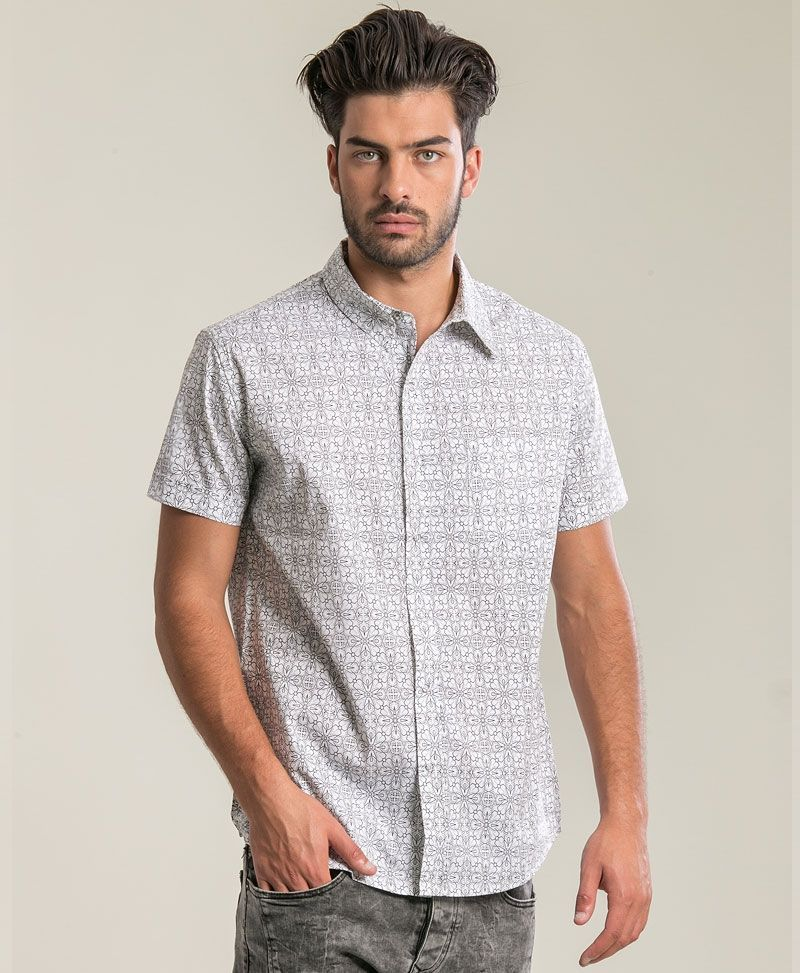 psychedelic clothing mens button up shirts arabesque