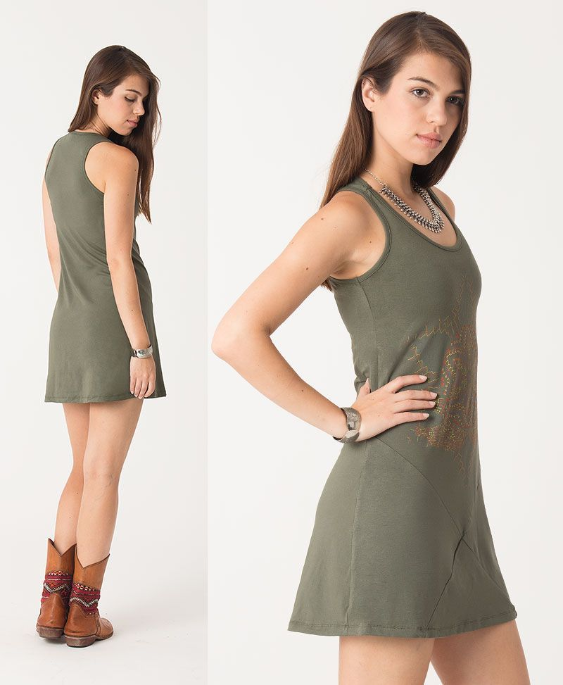 psychedelic clothing women tunic dress