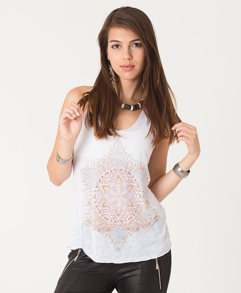 psychedelic top