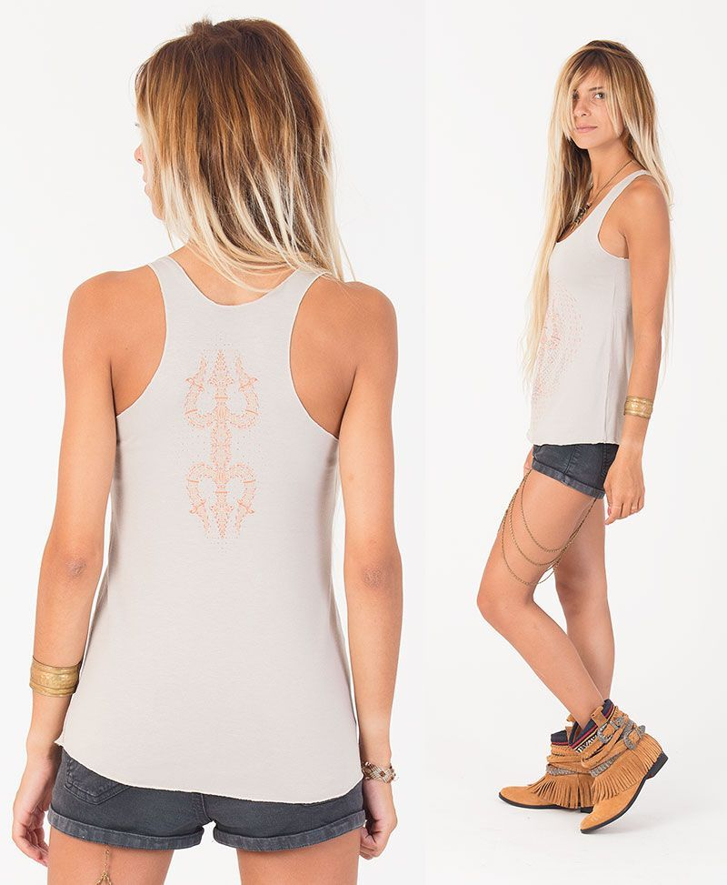 psychedelic clothing women tank top