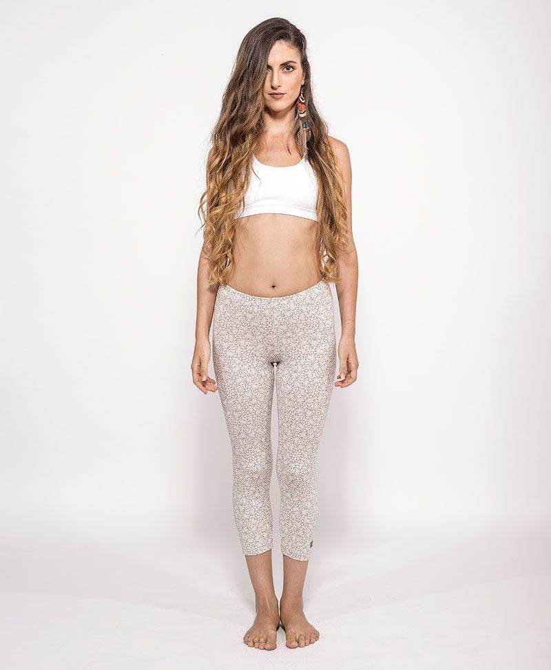 psychedelic clothing womens leggings tights lsd molecule off white