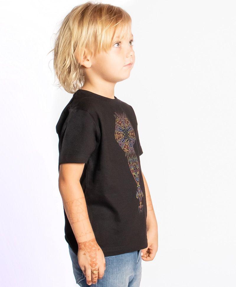 psychedelic-cool-kids-t-shirt-birthday-gift-glow-in-the-dark-mandala