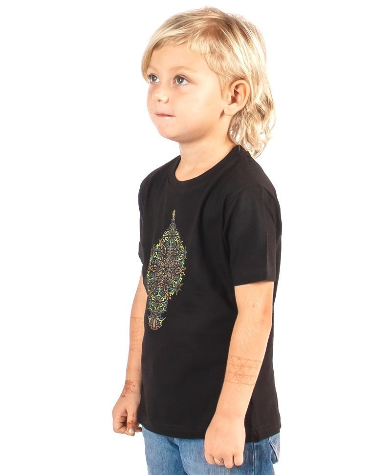 psychedelic-cool-kids-t-shirt-birthday-gift-mandala-black