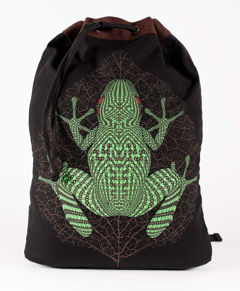 psychedelic-clothing-padded-straps-drawstring-backpack-back-sack-bag-kambo-frog
