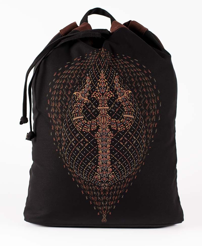 psychedelic-clothing-padded-straps-drawstring-backpack-back-sack-bag-trishul