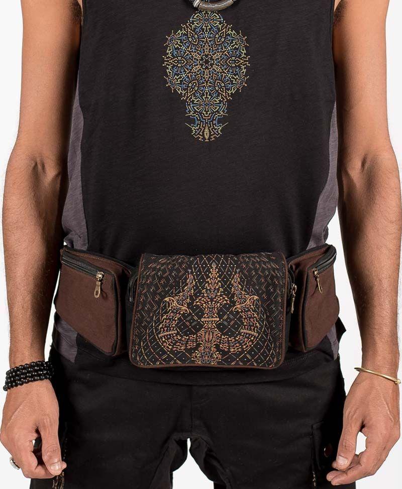 psychedelic-festival-utility-pocket-belt-canvas-hip-bag-fanny-pack-trishul