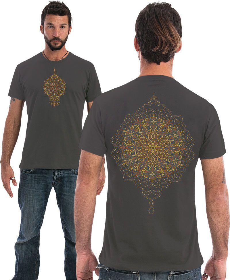sacred geometry men t shirt