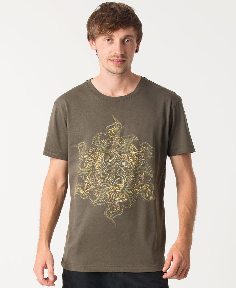 psychedelic shirt men festival clothing