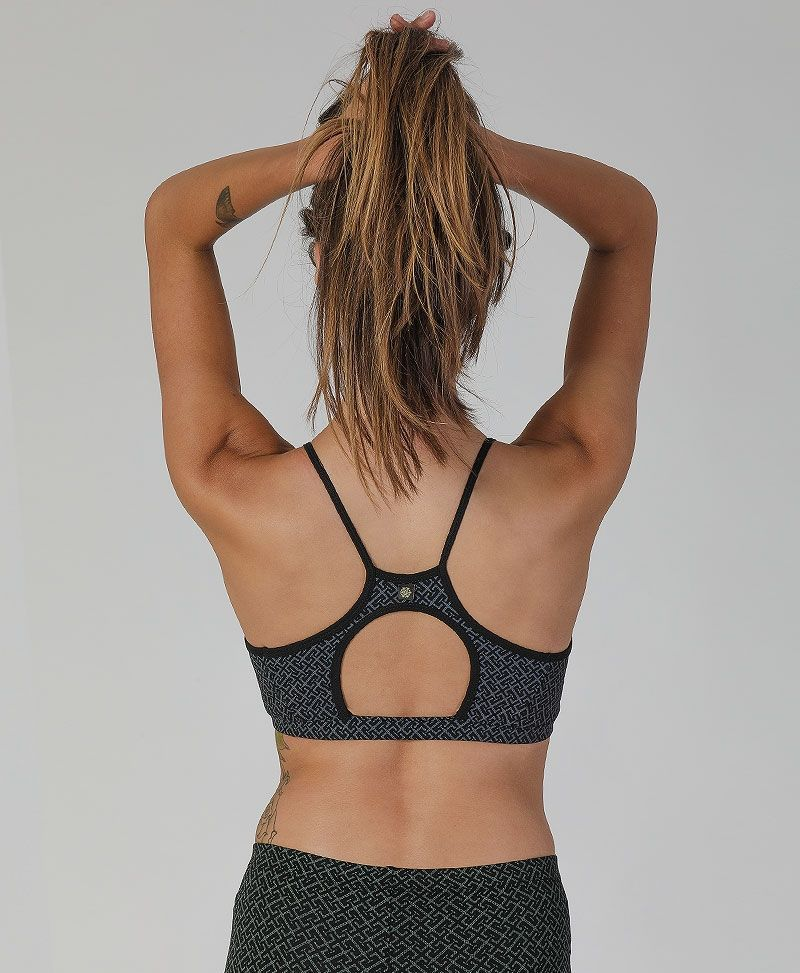 Psytrance Yoga Bra Top Women Bralette