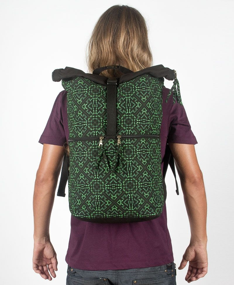 roll-top-backpack-large-travel-bag-canvas-hexagon