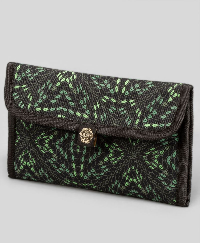 psychedelic stoners gift rolling tobacco pouch case