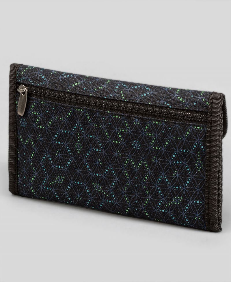 seed of life sacred geometry rolling tobacco pouch case