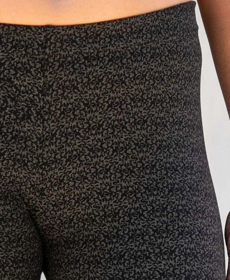 rudraksha print leggings for women long yoga pants