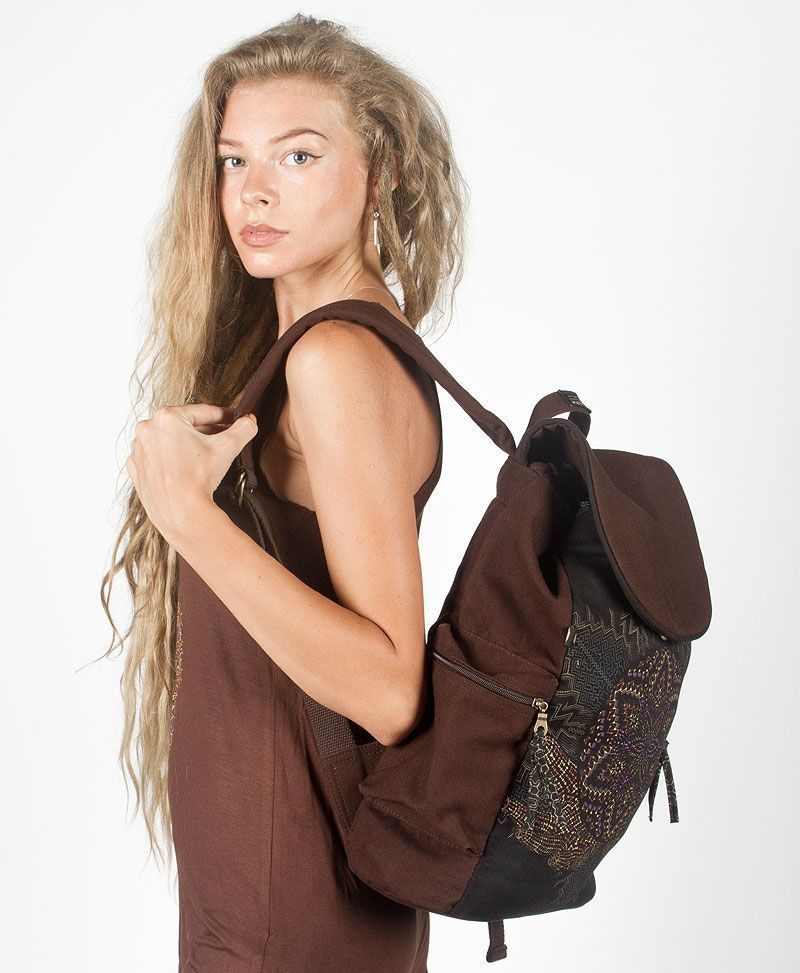 sacred-geometry-backpack-canvas-laptop-bag-brown