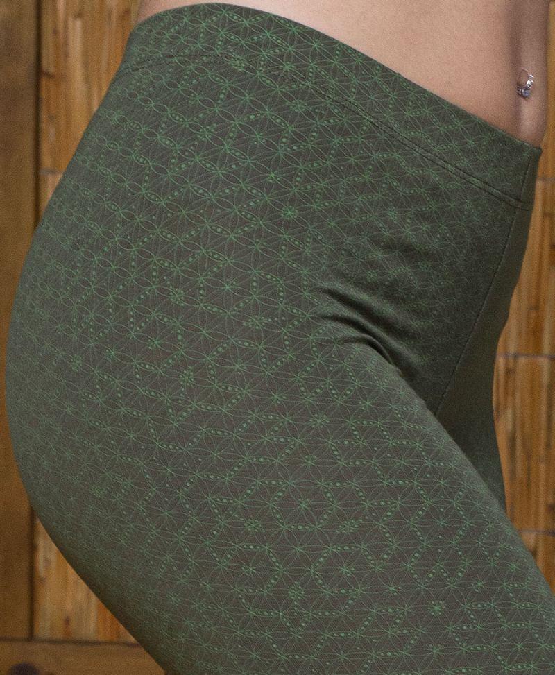 seed of life leggings for women sacred geometry yoga tights