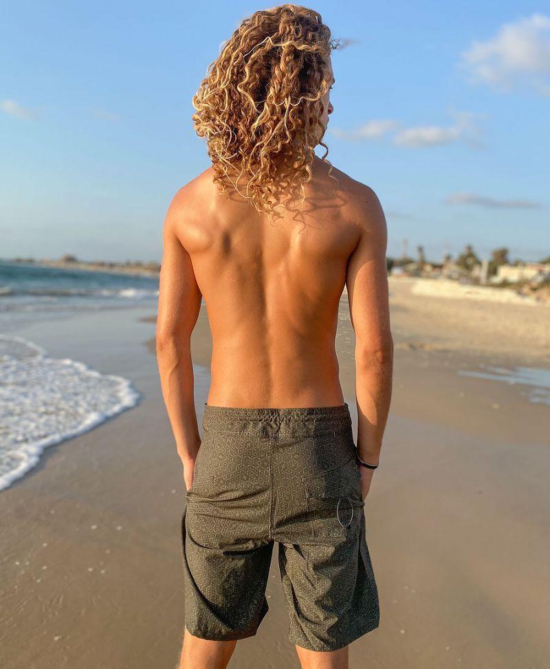 Seed Of Life Boardshorts For Men Sacred Geometry Swimwear