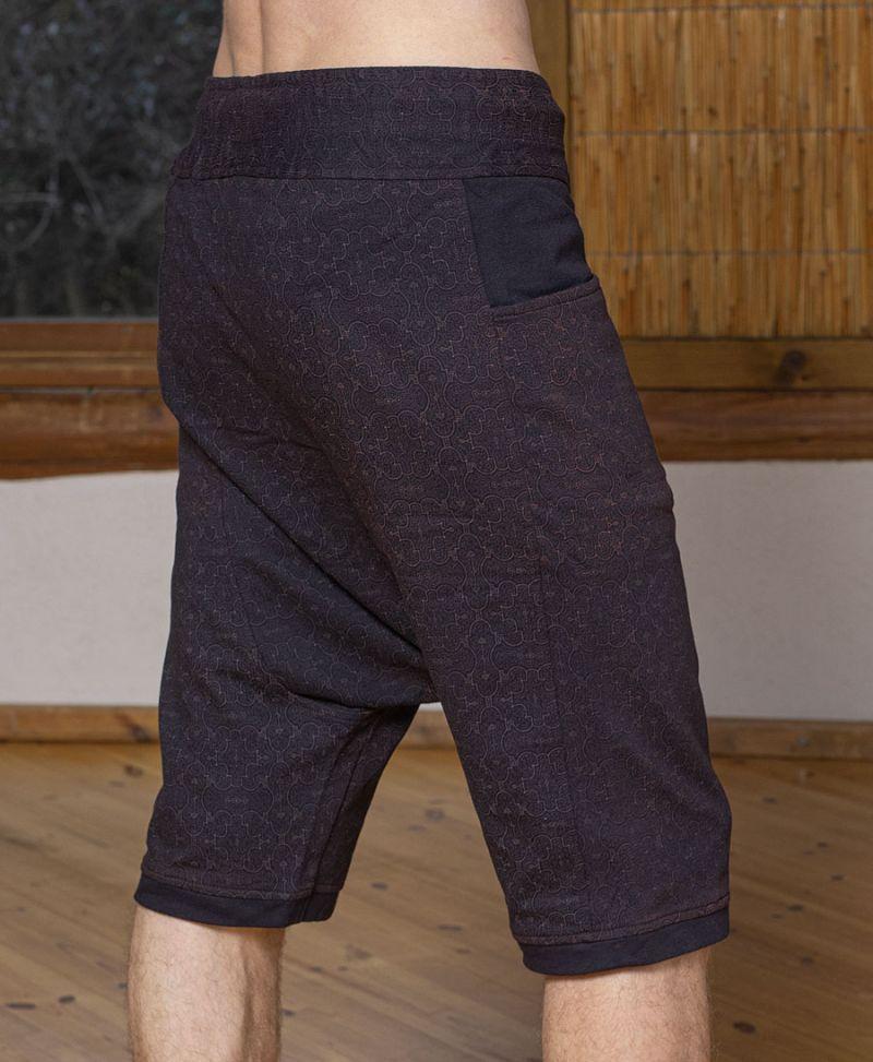 shipibo shorts men pants yoga wear