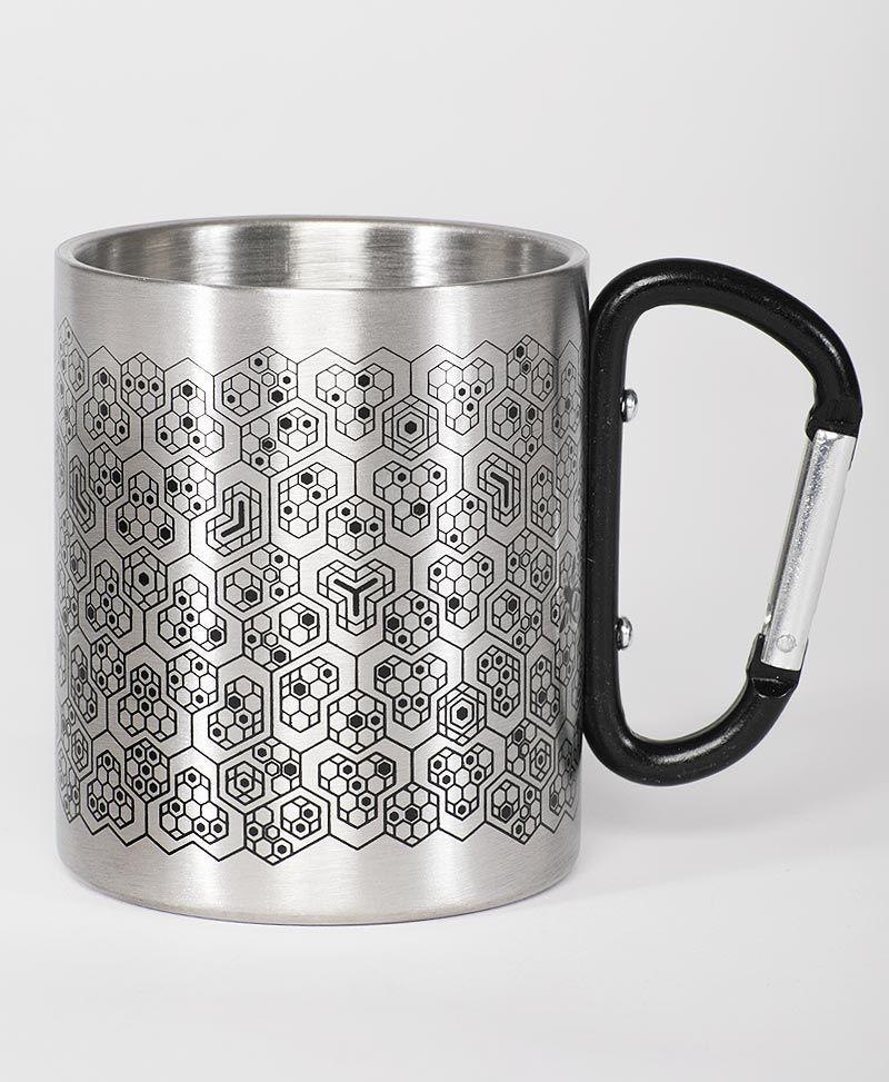 stainless-steel-travel-mug-festival-gear-bees-beehive