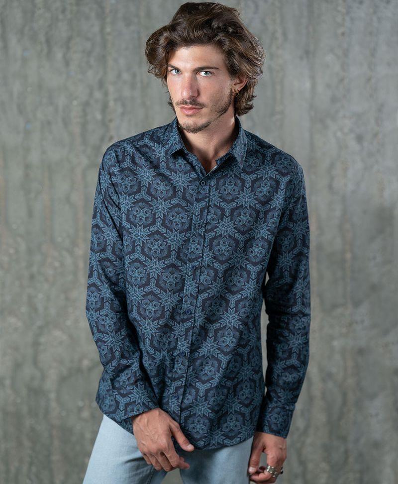 Optisomex Button Shirt- Long Sleeve