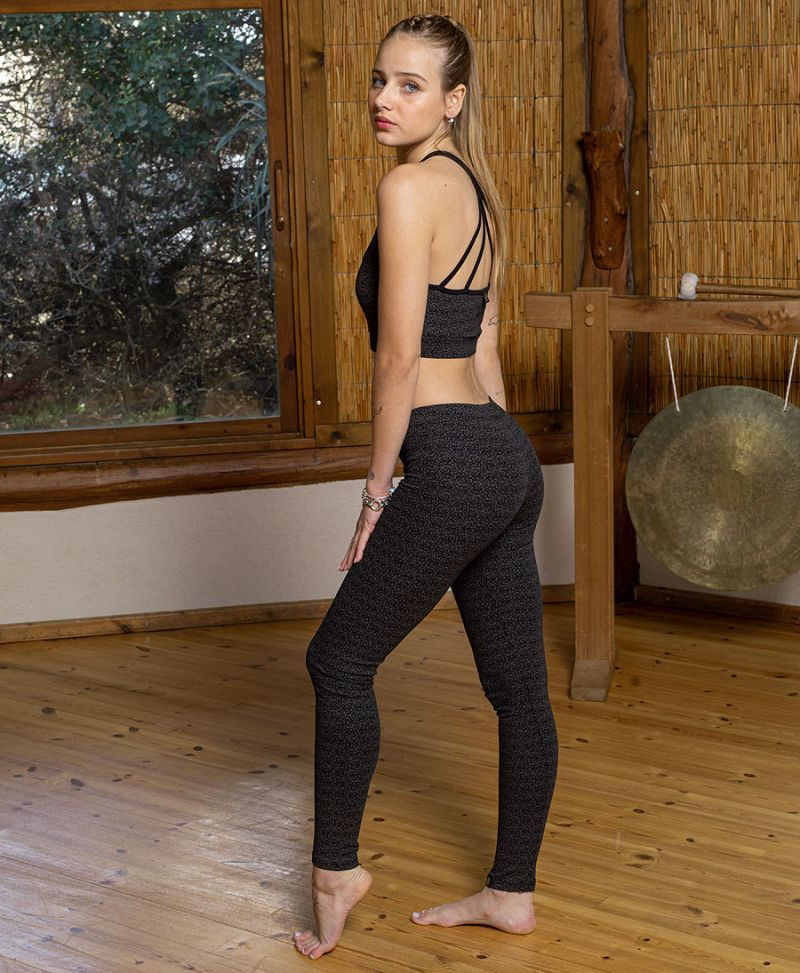 long leggings women yoga pants cotton tights