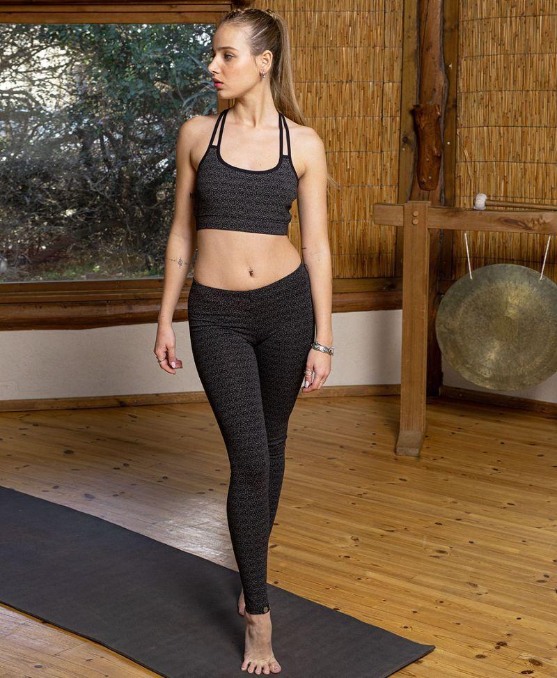 yoga bra top scrappy back festival bralette