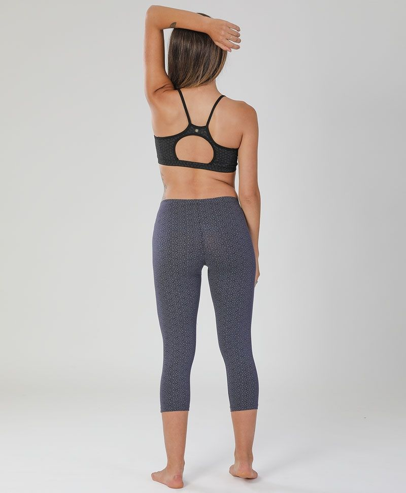 Yoga festival clothing women printed leggings psychedelic geometric cubic