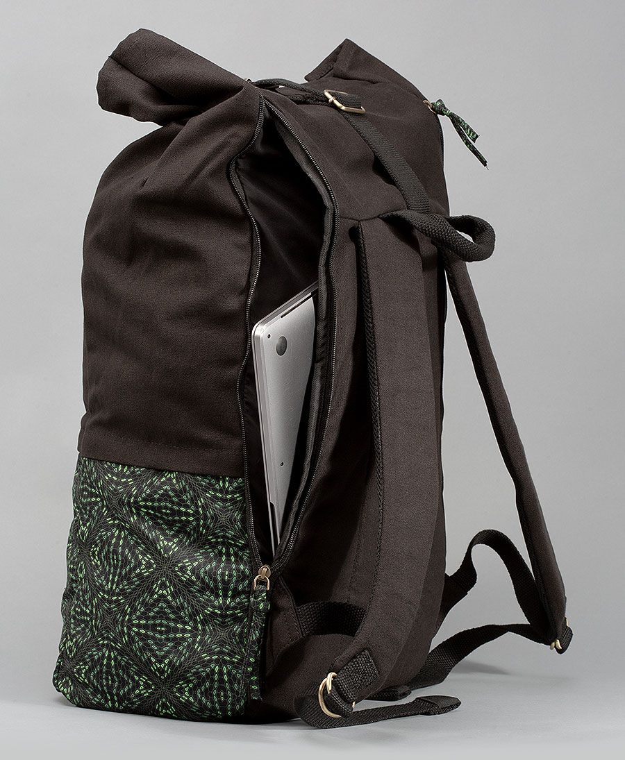 Hexit Roll-Top Backpack 45L