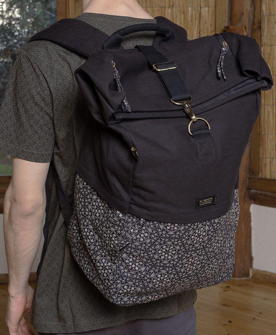 Hempi Roll-Top Backpack 45L