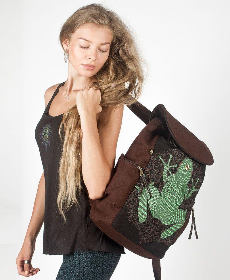 Sapo Kambô Backpack - Brown