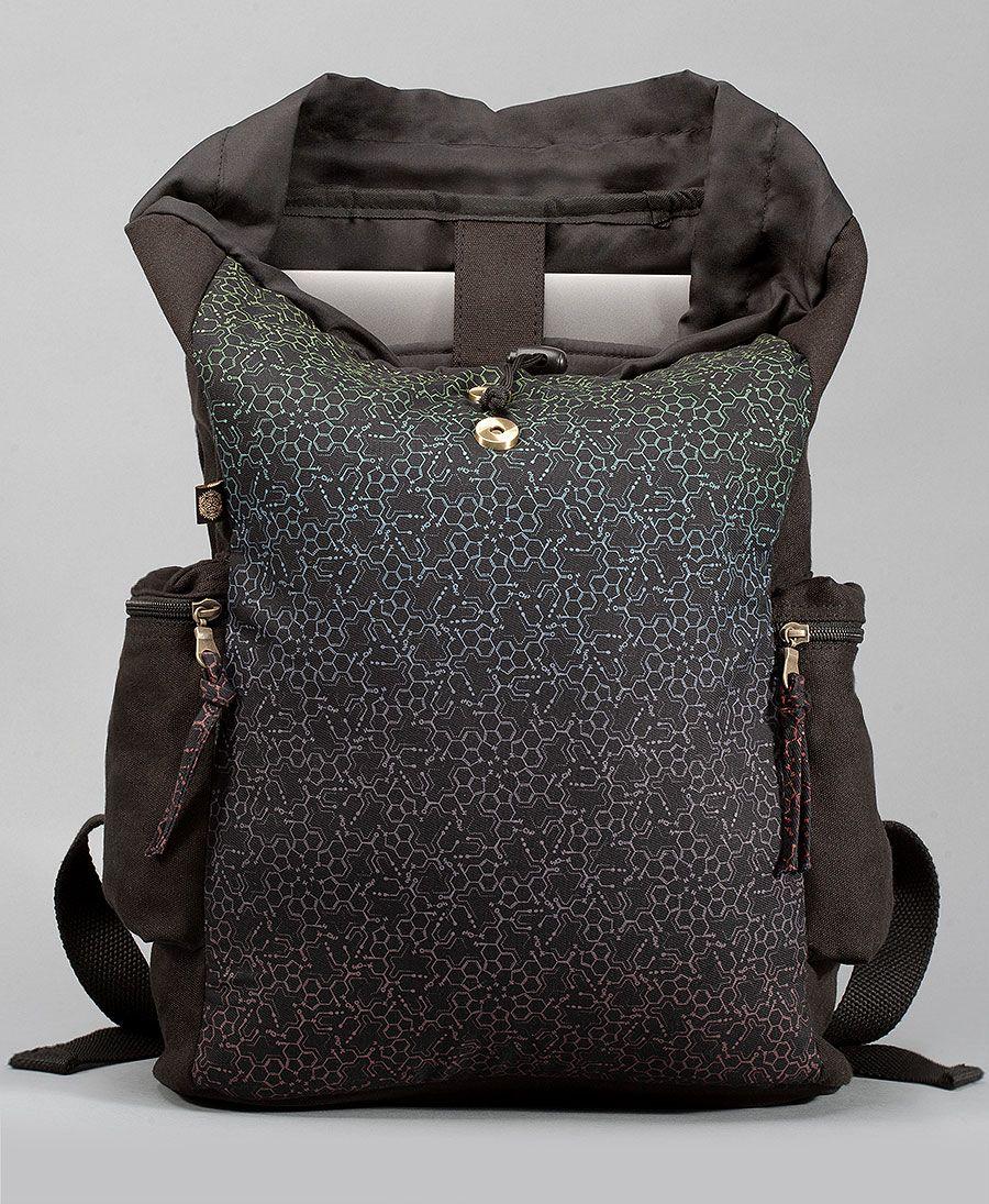 LSD Molecule Backpack- Black