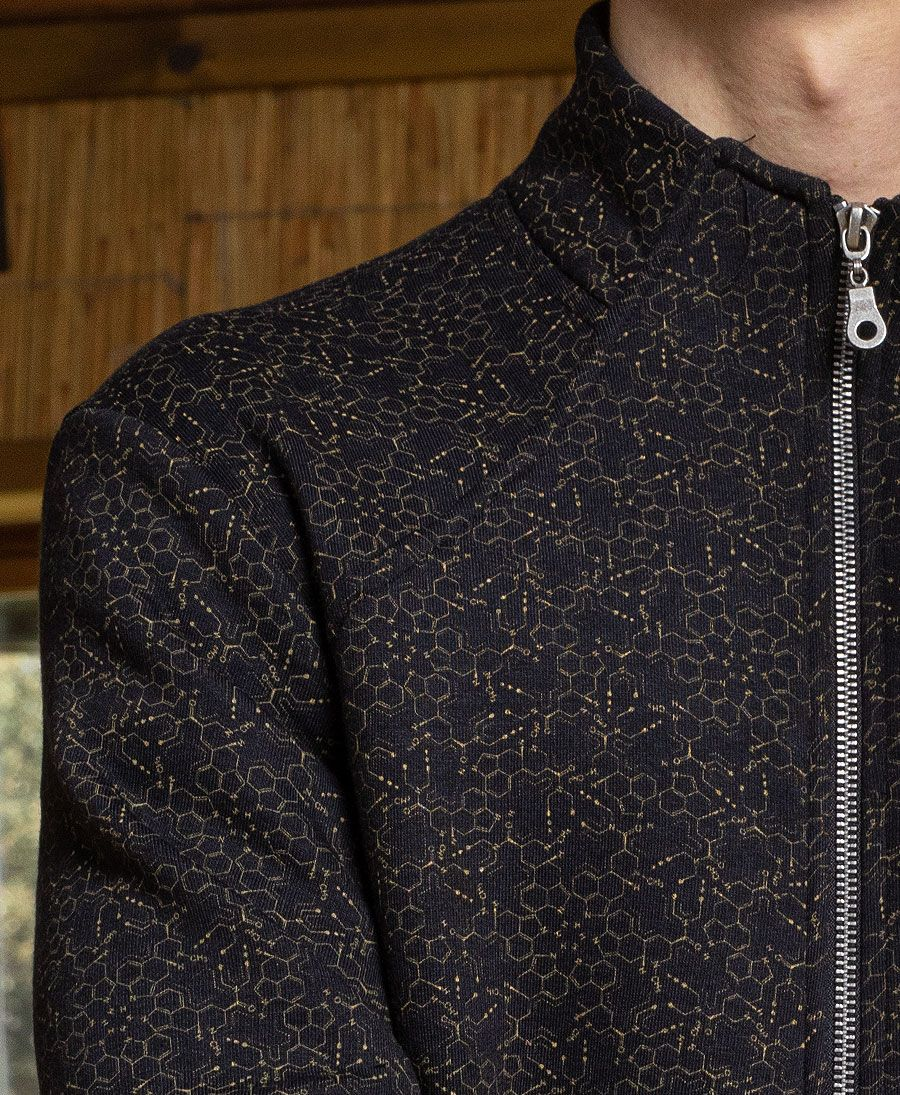 LSD Molecule Zip Up Jacket