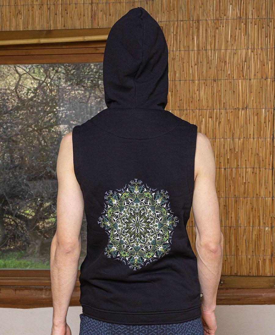 Lotusika Hooded-Vest ➟ Black