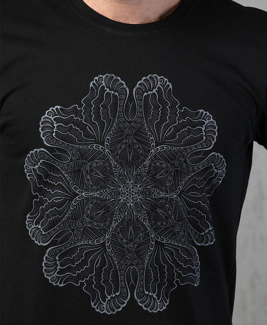 Faceat T-shirt ➟ Black
