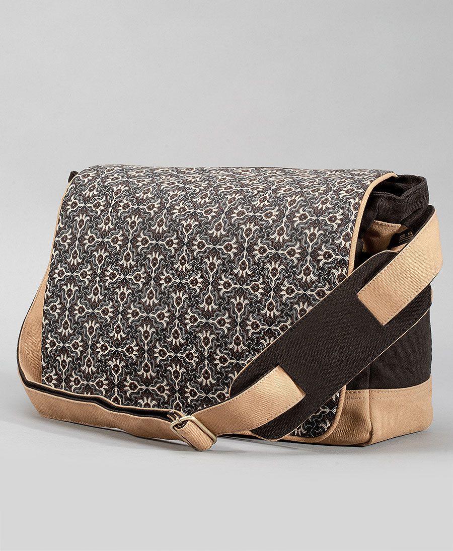 Hamsa Messenger Bag | Stone