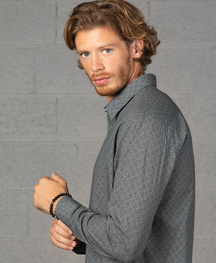 Atomic Button Shirt- Long Sleeve