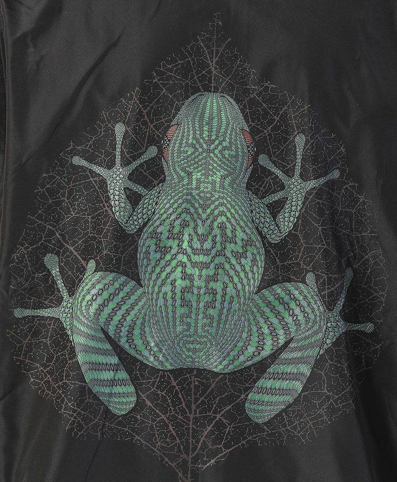 Sapo Kambô Microfiber Vest ➟ Black