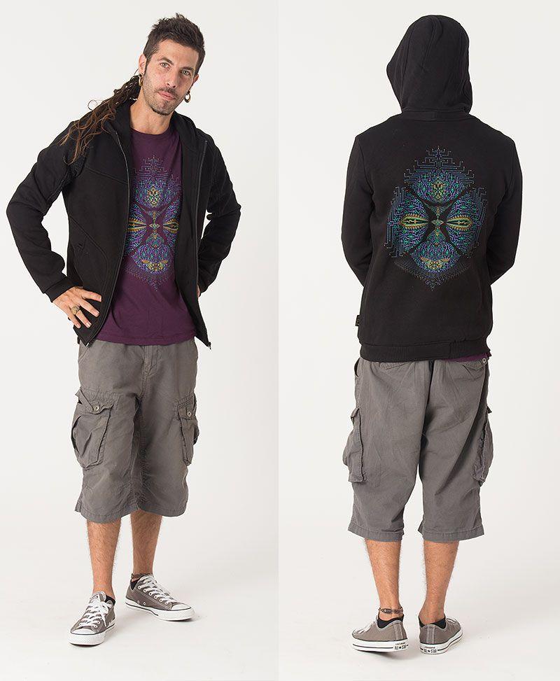 Sikuli Hoodie Jacket ➟ Black