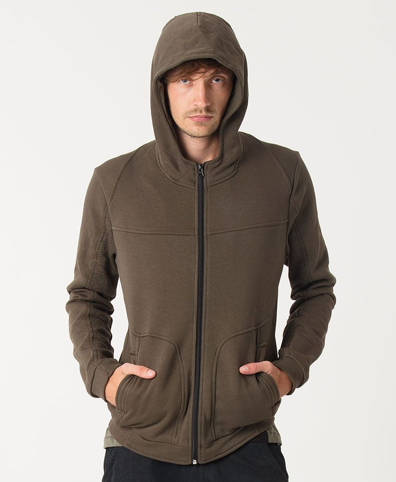 TriMurti Hoodie Jacket ➟ Olive