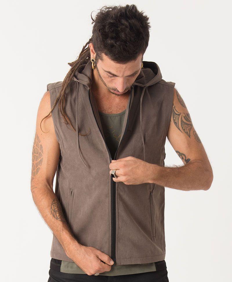Anahata Microfiber Vest ➟ Grey