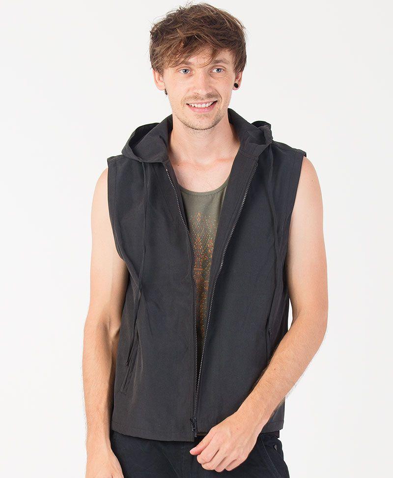 Trishula Microfiber Vest ➟ Black