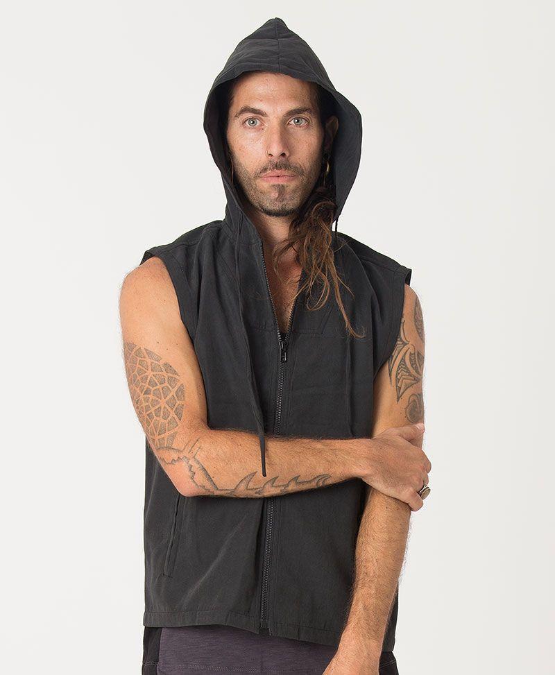 Anahata Microfiber Vest ➟ Black