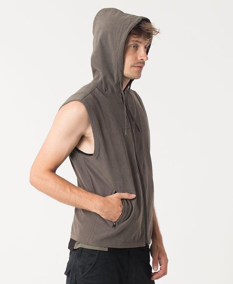 Trishula Microfiber Vest ➟ Olive