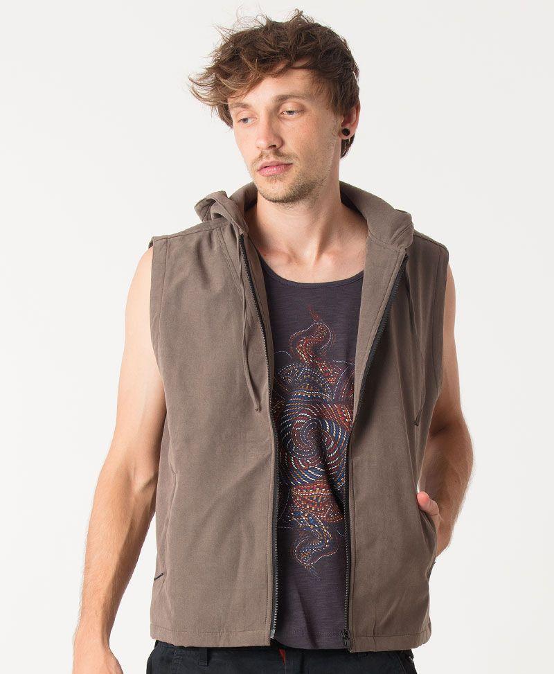 Vortex Microfiber Vest ➟ Grey