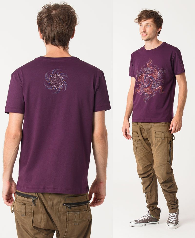 Vortex T-shirt ➟ Purple