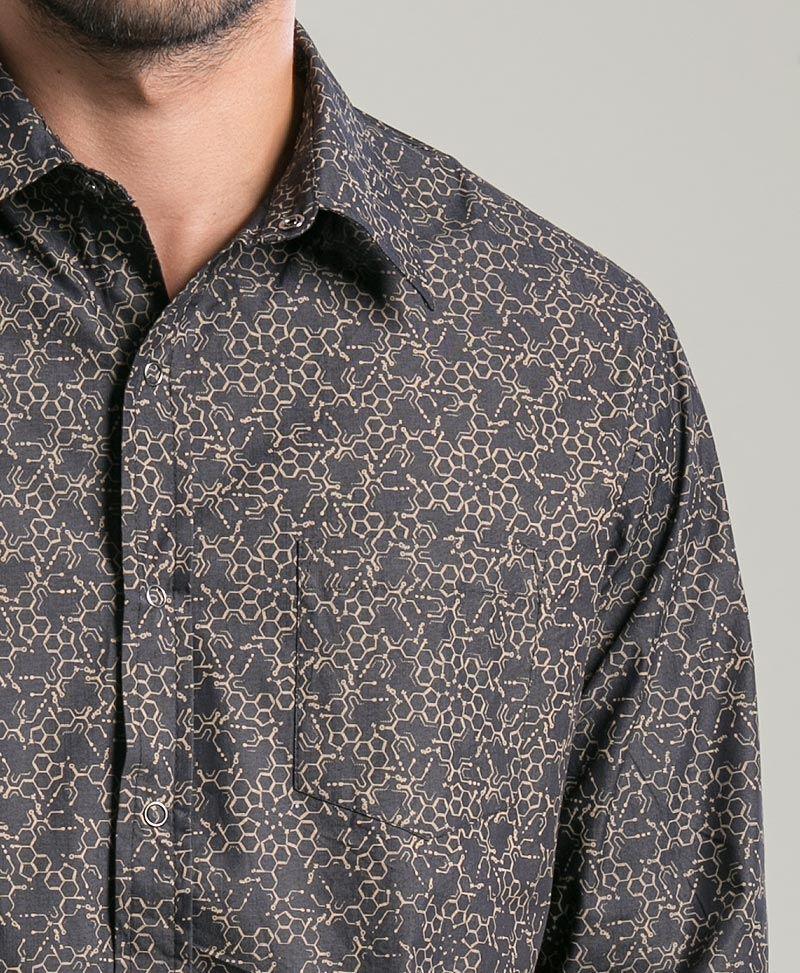 LSD Long Button Shirt ➟ Black