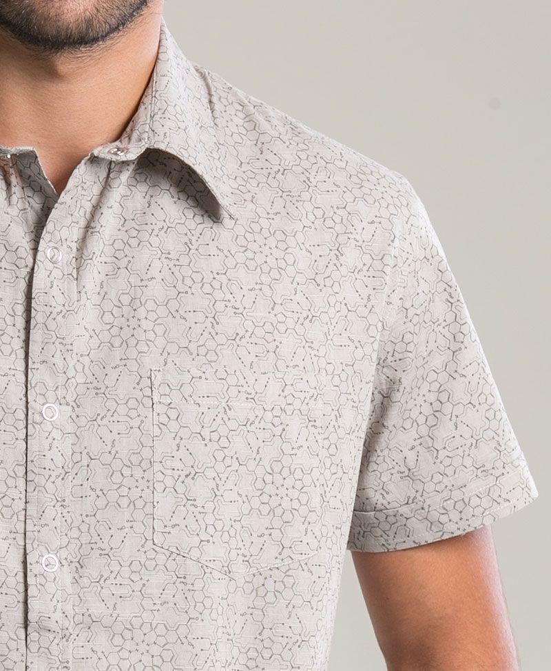 LSD Button Shirt ➟ Light Grey